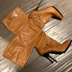 Michael Kors boots leather